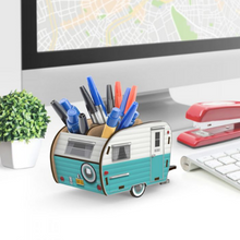 Load image into Gallery viewer, Happy Camper Pencil Holder