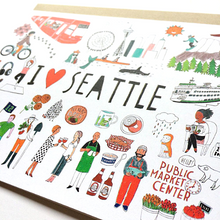 Load image into Gallery viewer, I Love Seattle Card