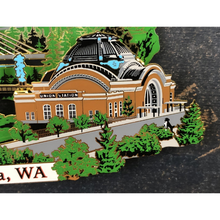 Load image into Gallery viewer, Downtown Tacoma Landmark Ornament