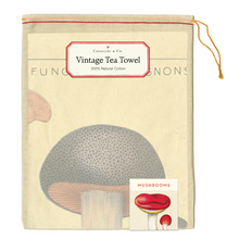 Load image into Gallery viewer, Cavallini & Co. Mushroom Tea Towel