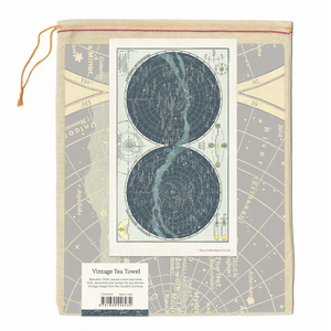 Cavallini & Co. Celestial 2 Tea Towel