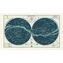 Load image into Gallery viewer, Cavallini & Co. Celestial 2 Tea Towel