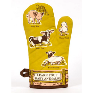 Baby Animals Oven Mitt