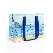 Load image into Gallery viewer, Ocean Gets Me Shoulder Tote