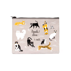 People I Love: Cat's Zipper Pouch