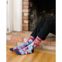 Load image into Gallery viewer, Crazy Cat Dude Men's Socks