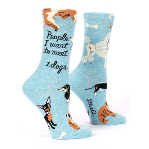 People to Meet: Dogs Crew Socks