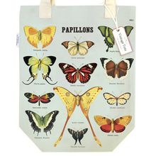 Load image into Gallery viewer, Cavallini & Co. Butterflies Tote Bag