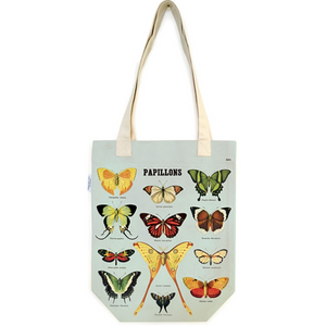 Cavallini & Co. Butterflies Tote Bag