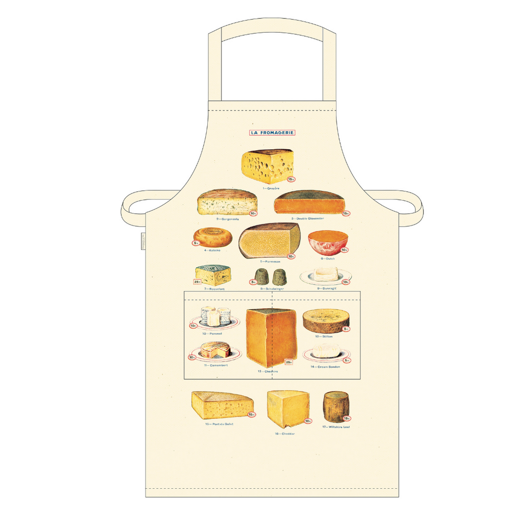 Cavallini & Co. Cheese Vintage Apron