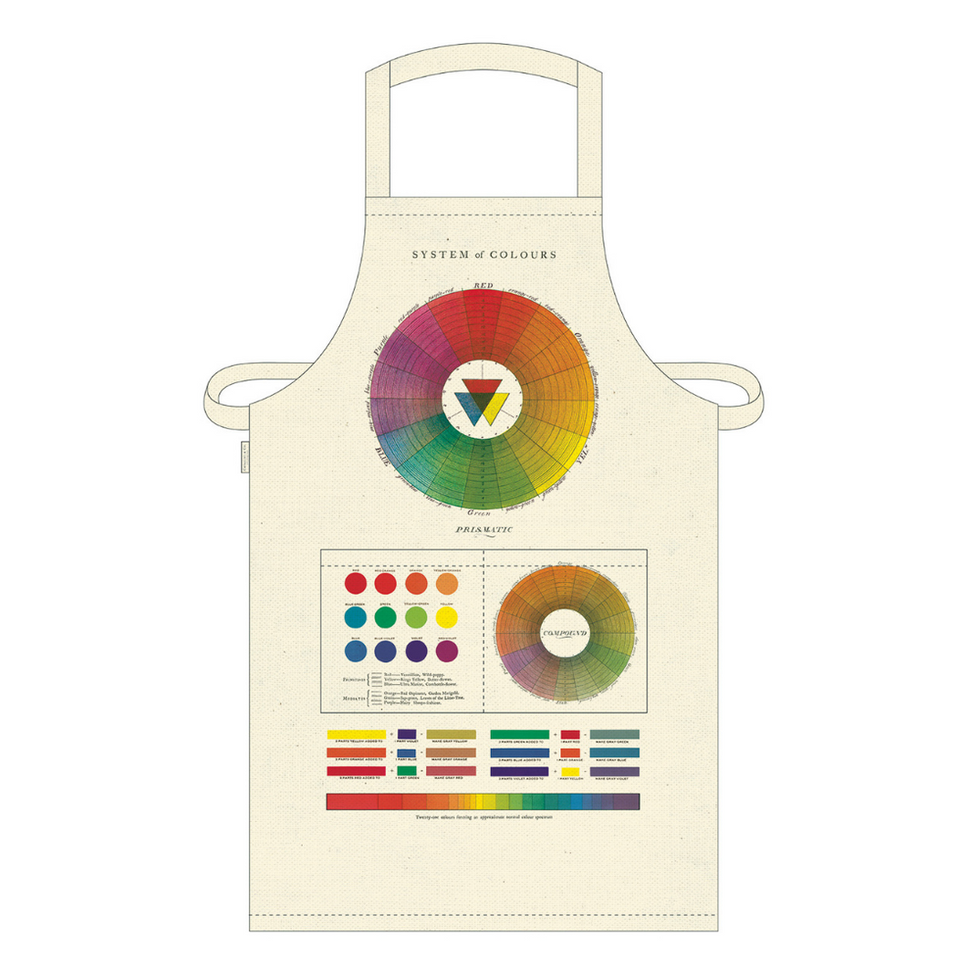Cavallini & Co. Color Wheel Vintage Apron