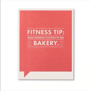 FF Card: Fitness tip: Wear workout clothes (FR)