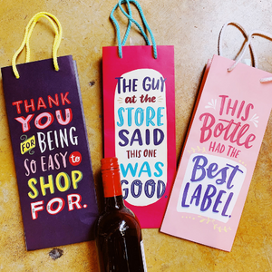 Wine Bag: Easy to Shop