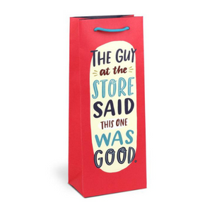 Wine Bag: Guy at the Store