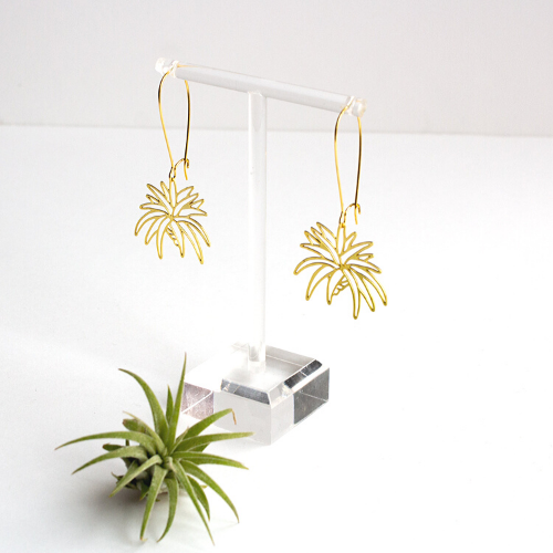 Air Plant Earrings/ Small
