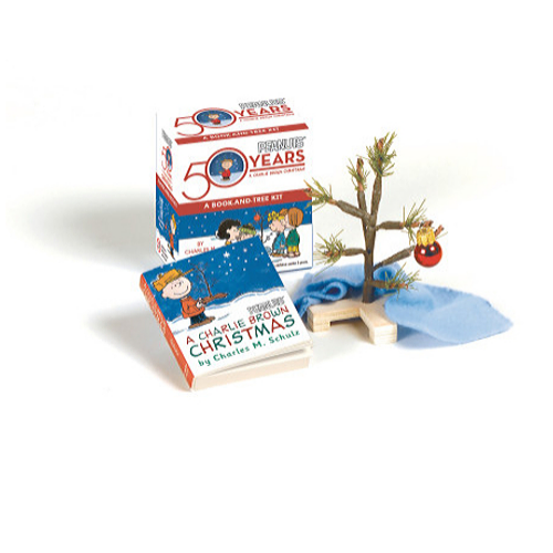 Charlie Brown-Book and Tree Kit