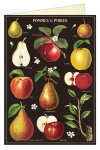 Apples & Pears Greeting Card