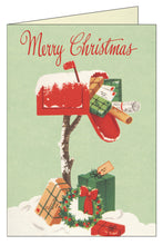 Load image into Gallery viewer, Cavallini & Co. Christmas Mailbox Boxed Note Cards