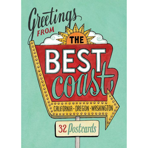 Greetings from the Best Coast Postcard Set