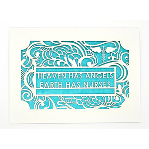 Heaven Has Angels Card