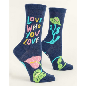 Love Who You Love Women's Crew Socks