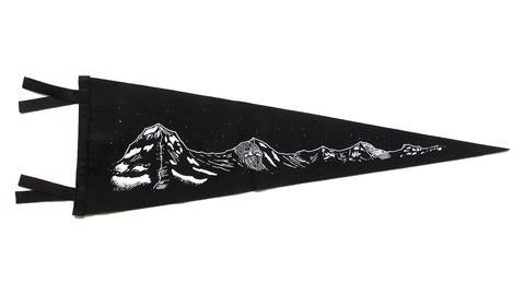 Illustrated Mountains Pennant