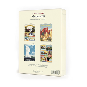 Cavallini & Co. National Parks Boxed Note Cards