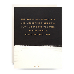 Steadfast & True Greeting Card
