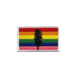 Cascadia Rainbow Patch