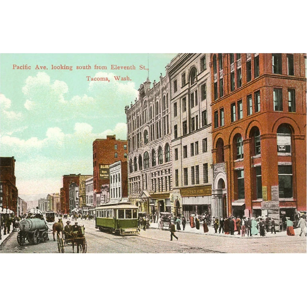 Pacific Ave. Postcard