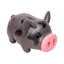 Load image into Gallery viewer, Piglet Bank Gray/Black