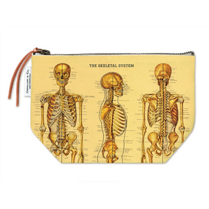 Cavallini & Co. Skeleton Vintage Pouch