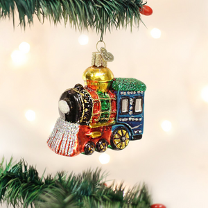 Small Locomotive Ornament