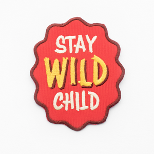 Stay Wild Child Patch