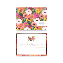 Load image into Gallery viewer, Juliet Rose Social Stationery Set