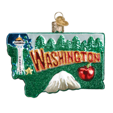 Load image into Gallery viewer, State of Washington Ornament