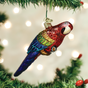 Tropical Parrot Ornament