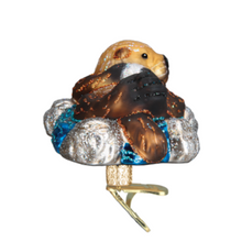 Load image into Gallery viewer, Floating Sea Otter Ornament