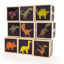 Load image into Gallery viewer, Dinosaur Blocks