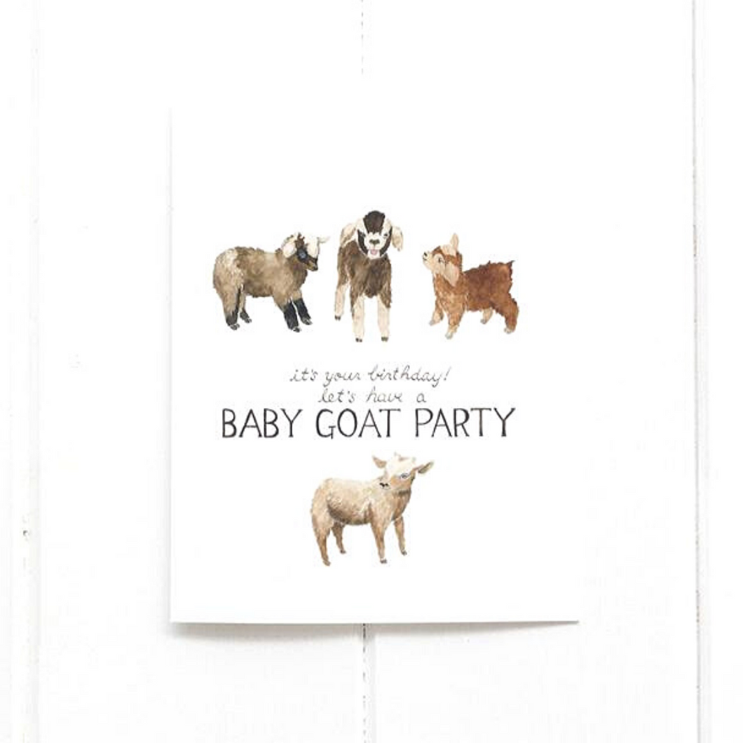 Birthday Baby Goat Party