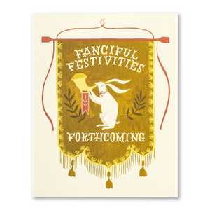 LM Card - Fanciful festivities forthcoming (HB)
