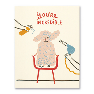 LM Card - You're incredible (IH)