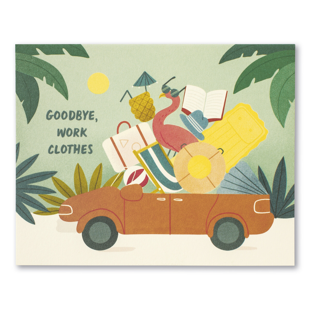 LM Card - Goodbye, work clothes (RET)