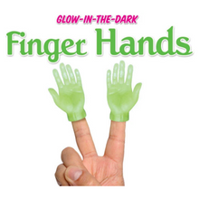 Load image into Gallery viewer, FINGER PUPPET-GLOW HAND
