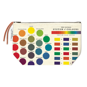 Cavallini & Co. Color Wheel Vintage Pouch