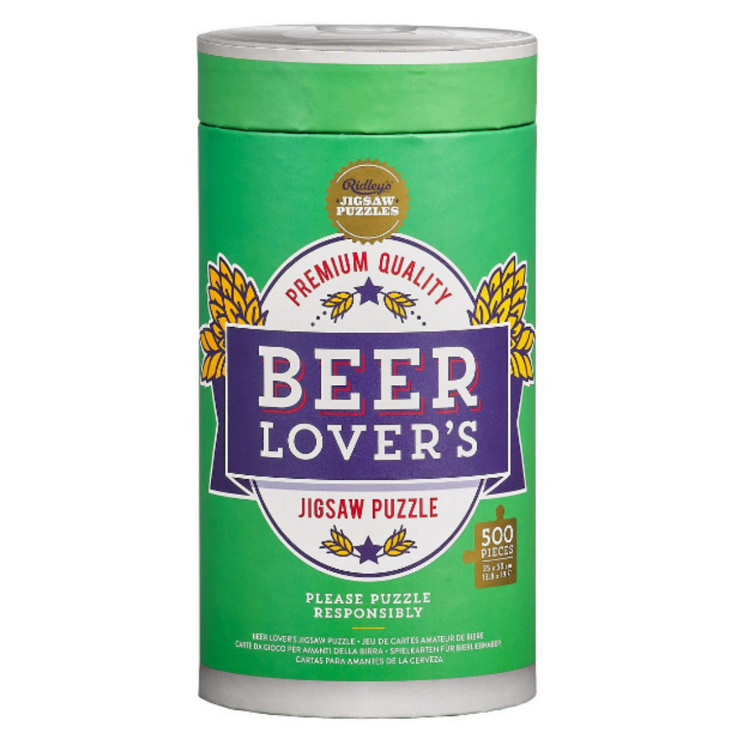 Beer Lover's Jigsaw Puzzle 500 Pieces