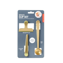 Load image into Gallery viewer, Brass Clip Set