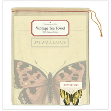 Load image into Gallery viewer, Cavallini & Co. Butterflies Tea Towel