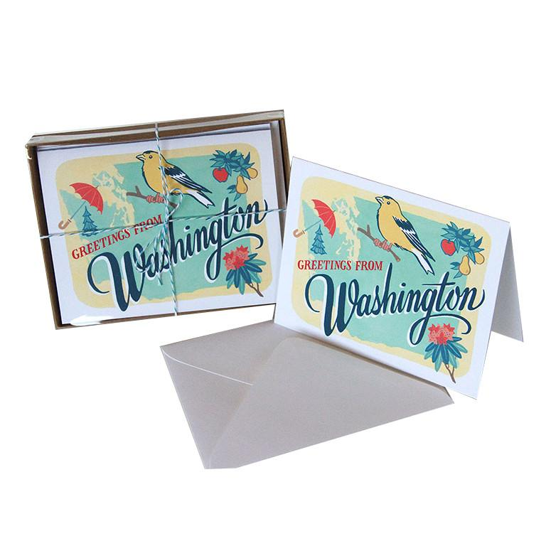 Washington Card (box set of 6)