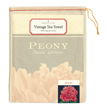 Load image into Gallery viewer, Cavallini & Co. Peony Tea Towel